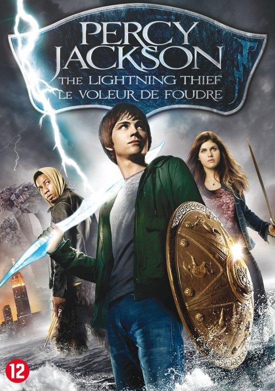 DVD cover van Percy Jackson - The Lightning Thief