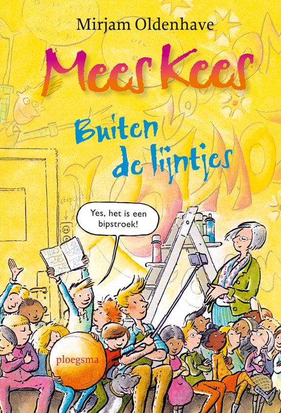 Boek cover Mees Kees - Buiten de lijntjes van Mirjam Oldenhave (Hardcover)