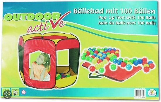 Ballenbad met 100 Ballen