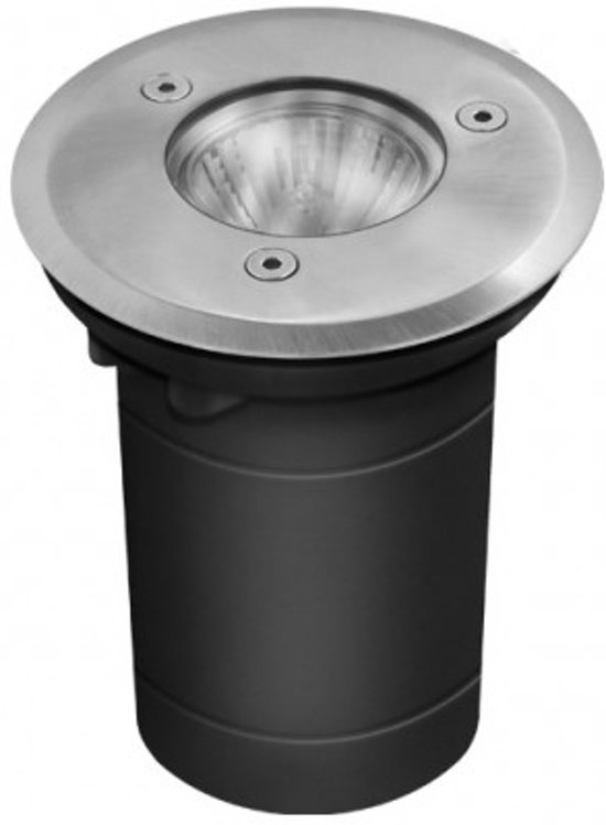 bol.com | Grondspot 12 Volt - Grond Armatuur RVS Rond 65mm - 1 LED ...