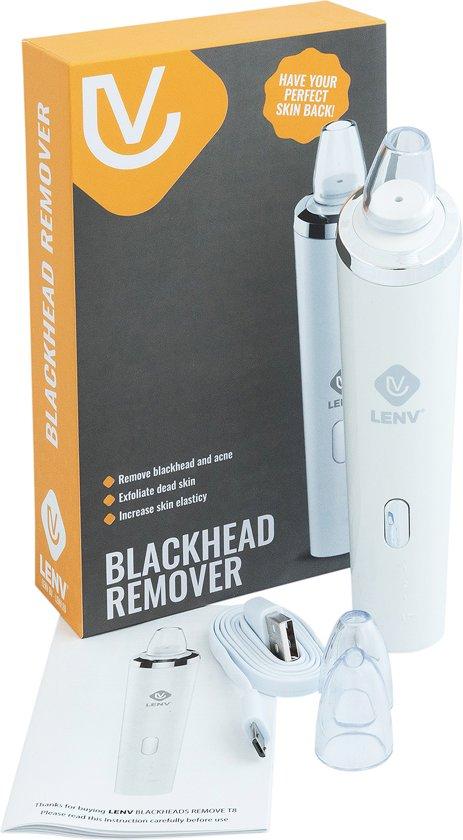LenV - Professionele blackhead vacuüm remover – Blackhead Verwijderen - Mee eters Verwijderen - Pore Vacuum Cleaner- Comedonen Microdermabrasie – Blackhead Killer