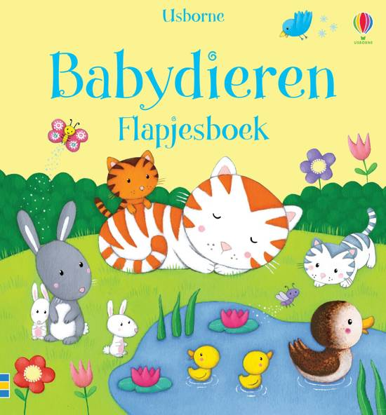 Babydieren flapjesboek