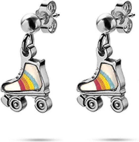 k3 oorbellen regenboog