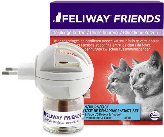 Feliway Friends Startset Verdamper - Met Vulling - 48 ml