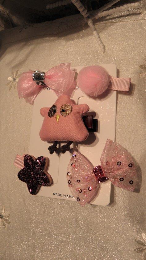 Baby Peuter Haaraccessoire Geschenkset ( Roze )