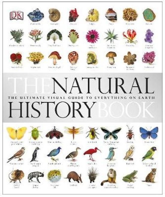 Boek cover The Natural History Book van Dk (Hardcover)