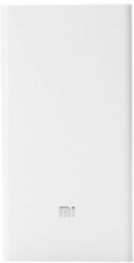 Xiaomi Fast Charging Powerbank 20000 mAh Wit