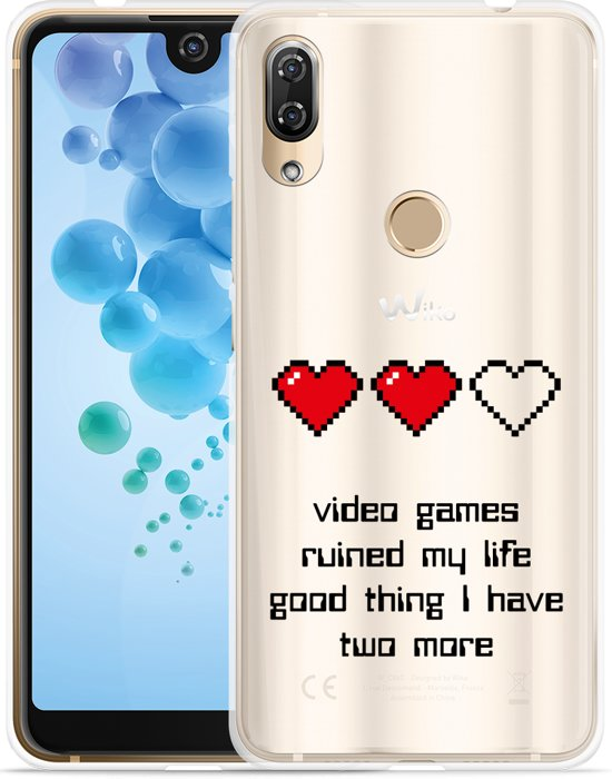 Wiko View 2 Pro Hoesje Gamers Life