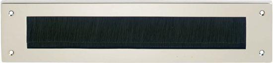 Intersteel Tochtwering brievenbusklep rechthoekig nikkel