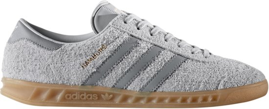 adidas Hamburg Sneakers - Maat 39 1/3 - Vrouwen - grijs