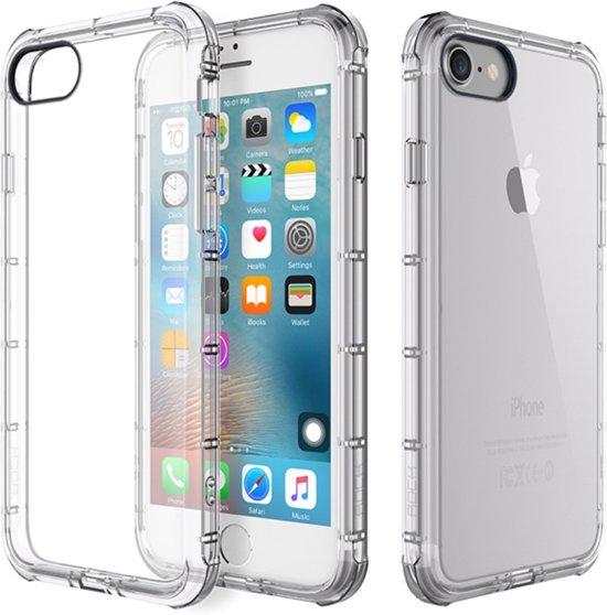 Mofi Anti-shock TPU Softcase iPhone 7/8 plus - Transparant