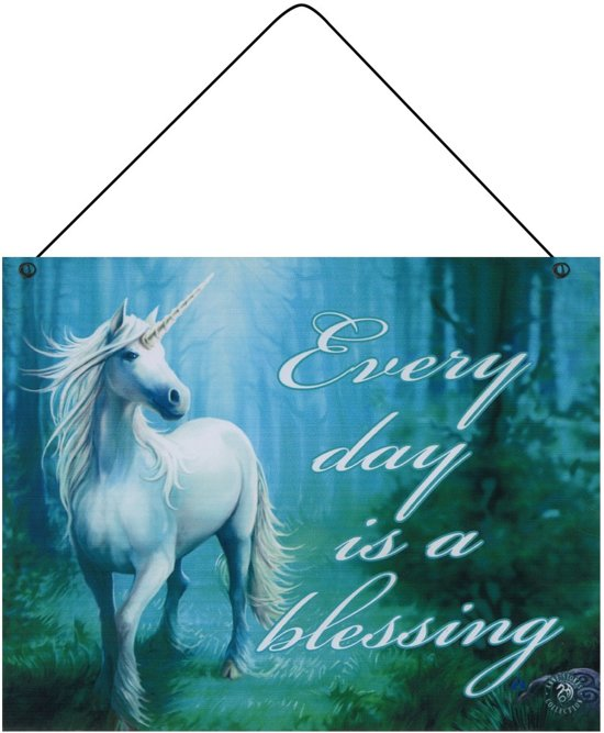 Bolcom Wandbord Every Day Is A Blessing Anne Stokes Collection