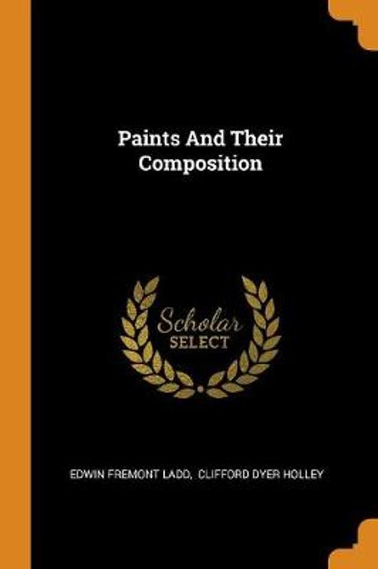 Paints and Their Composition