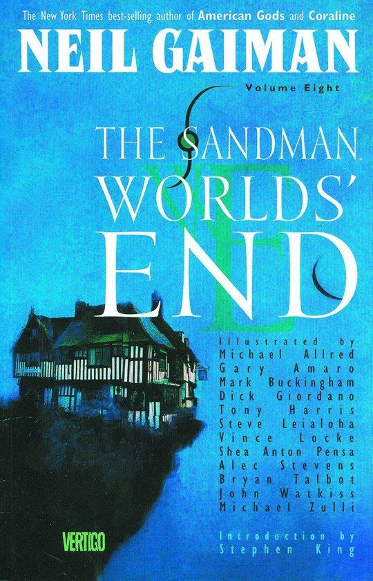Sandman deluxe Hc08. het einde van de wereld