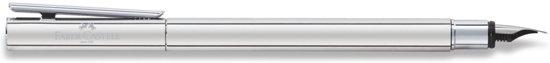 Faber Castell FC-342002 Vulpen NEO Slim Roestvrij Staal, Glanzend, EF