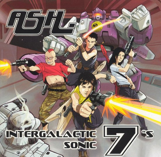 """Intergalactic Sonic 7""""s"""