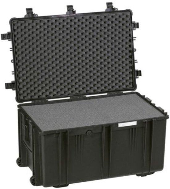 Explorer Cases 7641 Koffer Zwart met Plukschuim