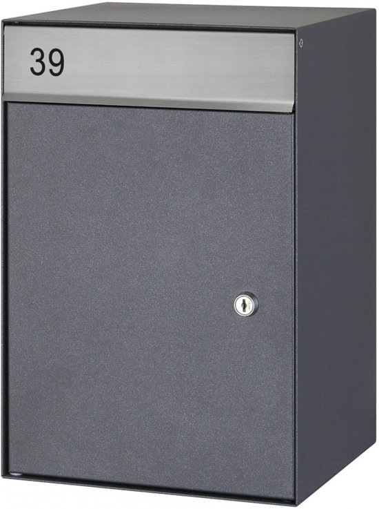 Brievenbus wandmodel (Antraciet)