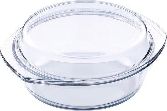 Super bol.com | ronde ovenschaal met deksel en inhoud 2,5 liter QW-18