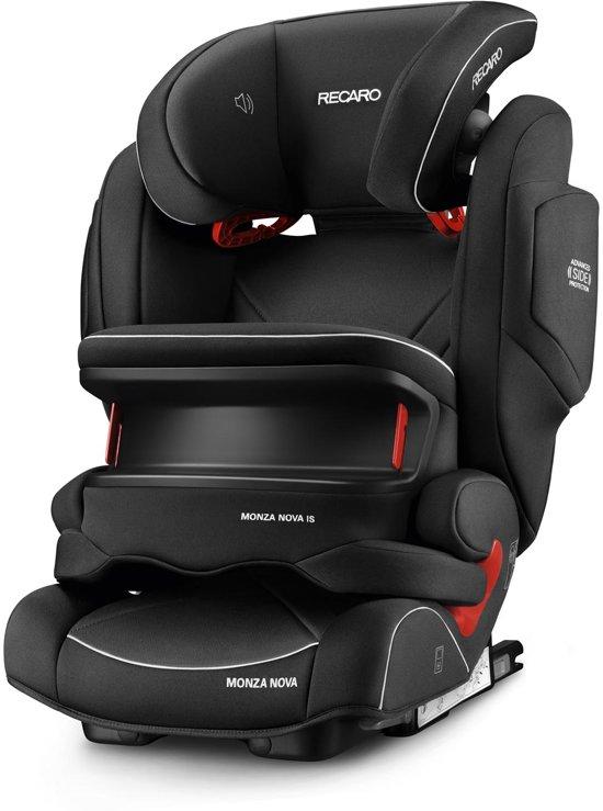 Recaro Monza Nova IS Seatfix - Autostoeltje - Performance Black