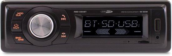 CALIBER RMD020BT - 1DIN autoradio FM USB Aux met vast frontpaneel en Bluetooth