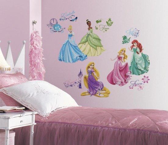 RoomMates Disney Prinsessen - Muurstickers - Multi