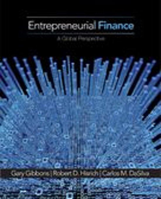 Boek cover Entrepreneurial Finance van Gary E. Gibbons (Onbekend)