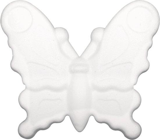 Piepschuim vlinder 12,5 cm