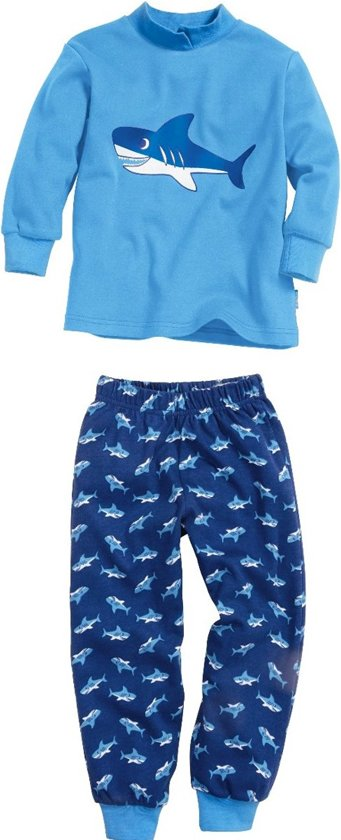 Playshoes Pyjamaset Haai maat 80