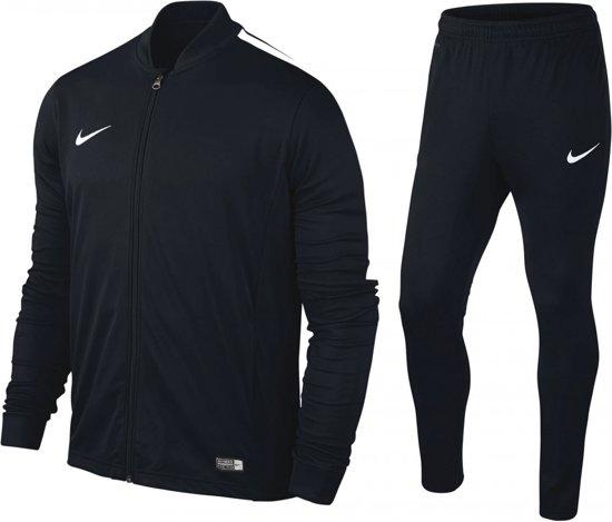 Nike Academy 16 Knit Trainingspak Senior Zwart Maat XL