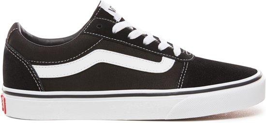 12e1e129901 bol.com | Vans Ward Sneakers Dames - Maat 39 - (Suede/Canvas) Black ...