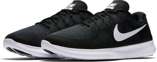 pretty nice 3d41e bc87a Nike Free Rn 2017 Hardloopschoenen Heren - BlackWhite-Dark Grey-Anthracite