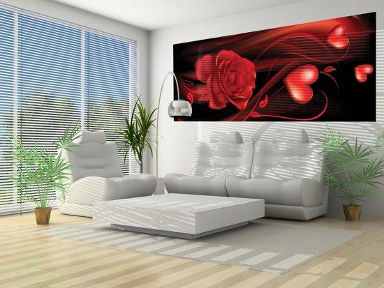 Slaapkamer Rood Zwart : Bol fotobehang roos slaapkamer zwart rood cm