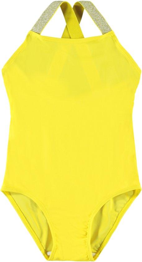 Name it Meisjes Zwempak - PrimR.Yellow - Maat 98-104