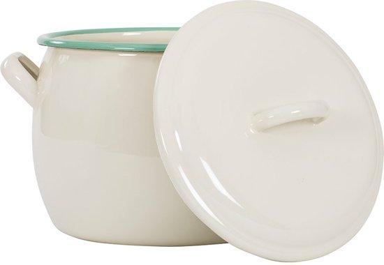 Kookpan met deksel Crème, 0,7 L -Kockums