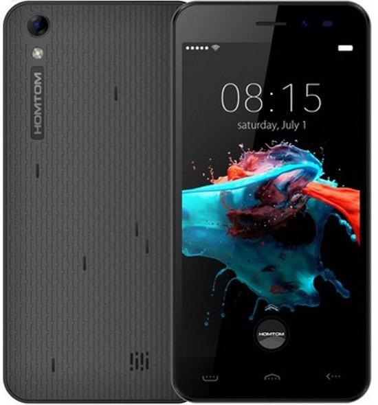 Homtom HT16 5 inch Android 6.0 Quad Core 3000mAh 1GB/8GB Zwart