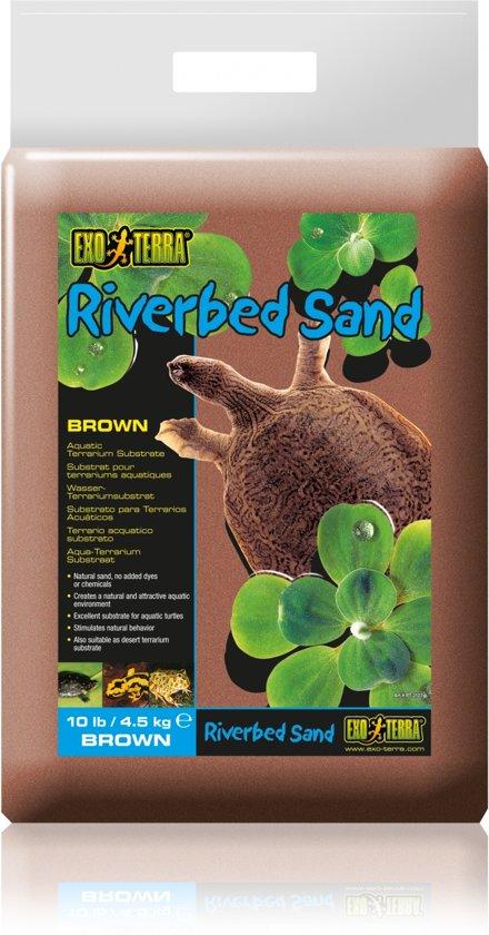Exo Terra Rivierzand - Bruin - 4.5 kg