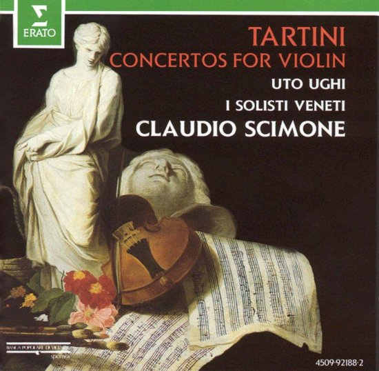 Tartini: Violin Concertos / Ughi, Scimone, I Solisti Veneti