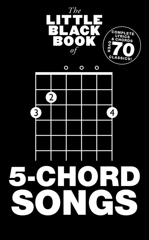 Bol The Little Black Book Of 5 Chord Songs Ebook Wise