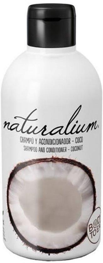 MULTI BUNDEL 4 stuks Naturalium Shampoo And Conditioner Coconut 400ml