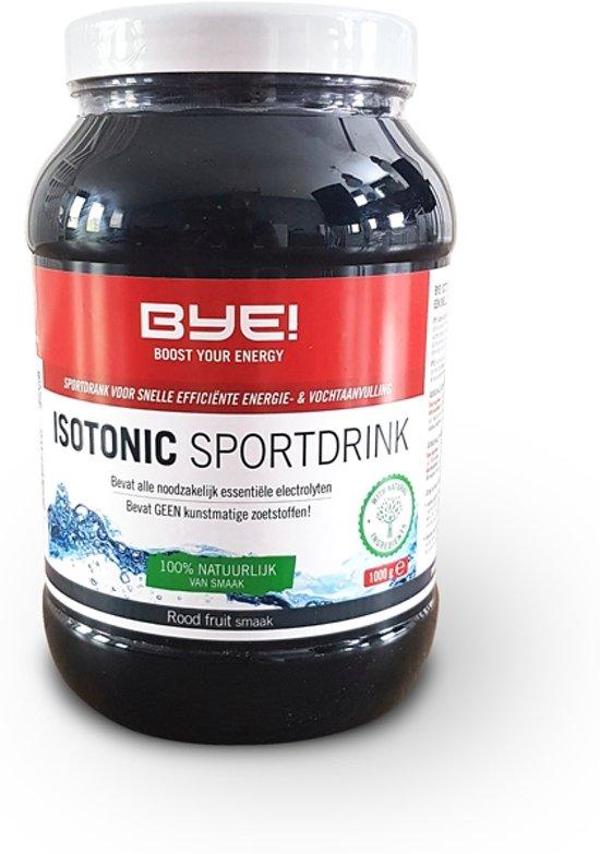 BYE! Isotonic Sportdrink - Rood Fruit - 1000 gram