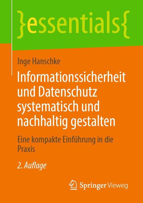 Informationssicherheit und Datenschutz systematisch und nachhaltig gestalten