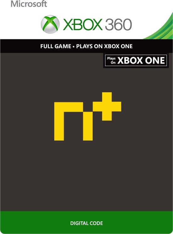 N+ - Xbox 360 - Plays on Xbox One - Arcade Game kopen