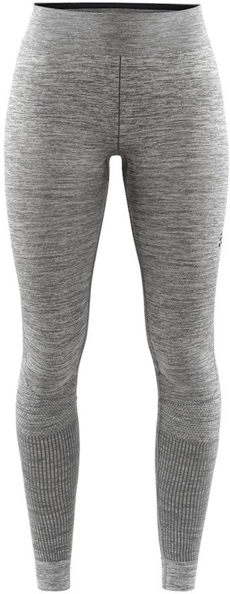 Craft Fuseknit Comfort Pants Dames Sportbroek - Dk Grey Melange - S