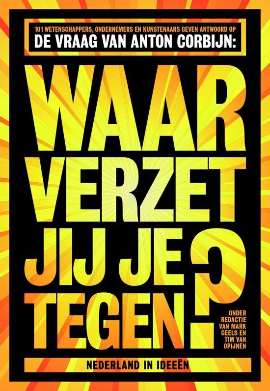 Boek cover Waar verzet jij je tegen? van Mark Geels (Onbekend)