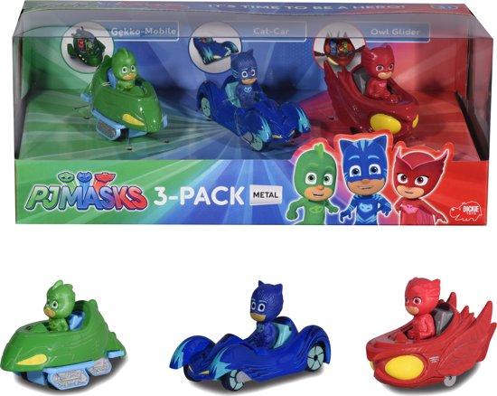 Bolcom Dickie Pj Masks Speelfiguren 3 Pack Dickie Speelgoed
