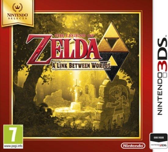 The Legend of Zelda, A Link Between Worlds (Select) - 2DS + 3DS