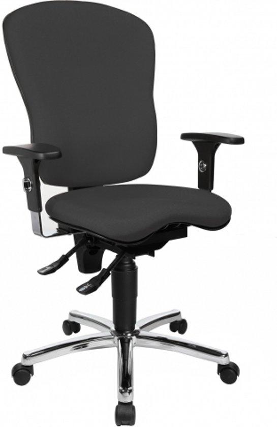 Topstar Sitness Pro AL P4 - Bureaustoel - Ergonomisch -  Antraciet grijs