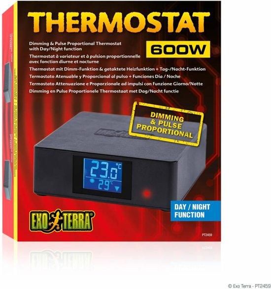 Exo Terra Thermostaat - Dag/Nacht 600W