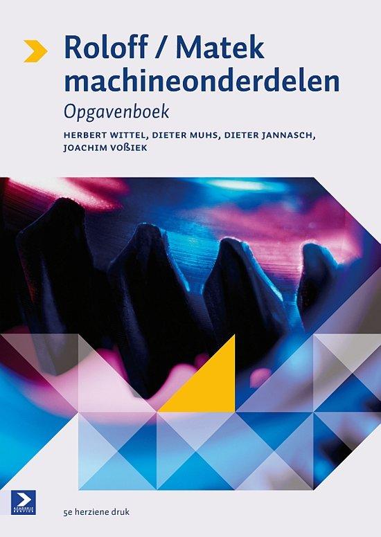 Roloff/Matek machineonderdelen / deel Opgavenboek - Herbert Wittel